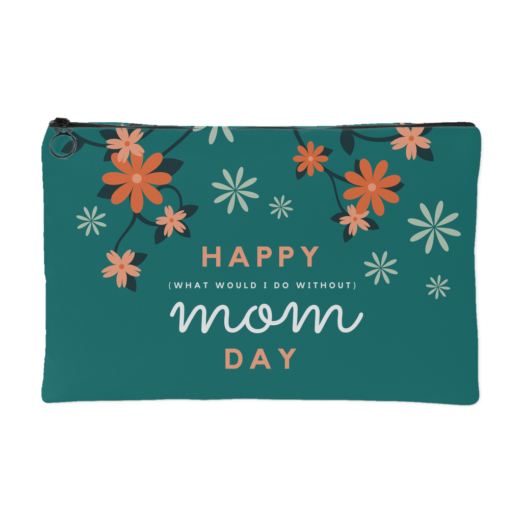 Happy Mom Day Mother Daughter Quotes Pouch Good Morning Quote
