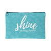 'Shine, you crazy diamond' Love Yourself Quotes Pouch