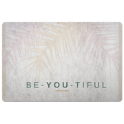 'Be-you-tiful' Love Yourself Quotes Doormat