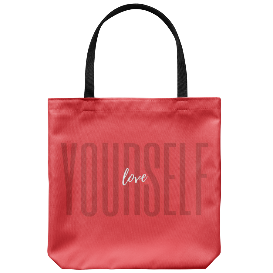 'Love yourself' Self-love Quotes Tote Bag