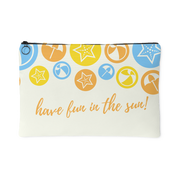 'Have fun in the sun' Summer Quotes Pouch