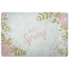 """Hello Spring"" Spring Quotes Doormat"