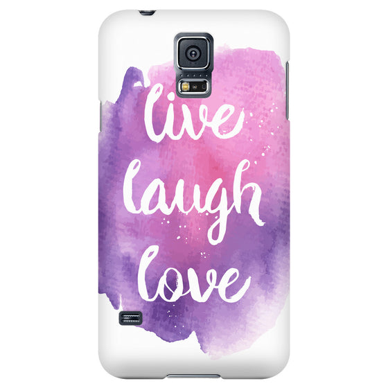 Phone Cases - 'Live, Laugh, Love' Motivational Quotes Phone Case