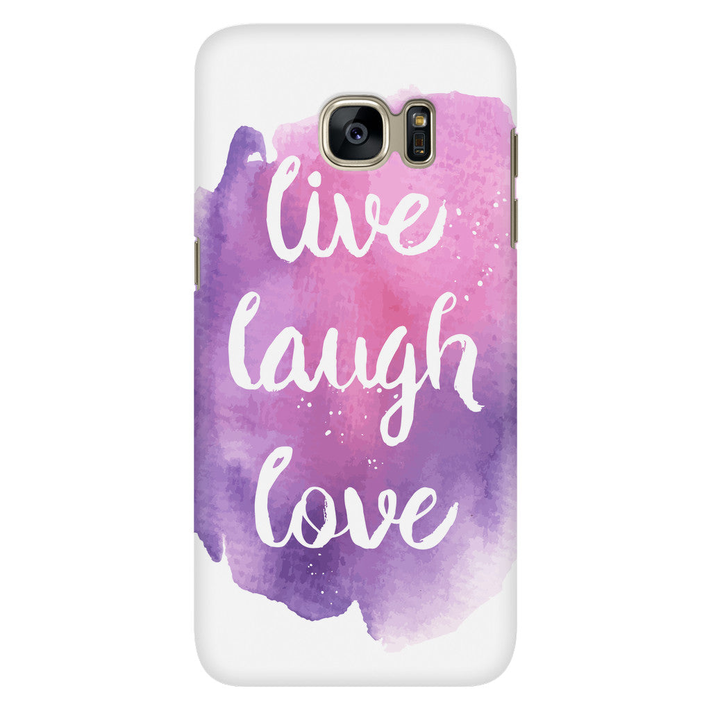 Live Laugh Love Quote Live Laugh Love' Motivational Quotes Phone Case  Good Morning Quote