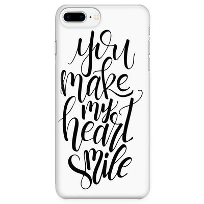 Phone Cases - 'You Make My Heart Smile' Quote Phone Cases