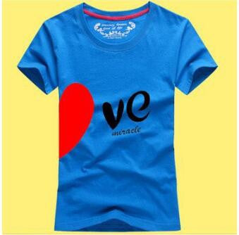 Let Love Create Miracle Couple T-Shirts For Lovers [14 Variants]