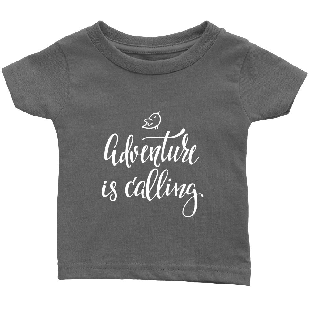 T-shirt - 'Adventure Is Calling' Quote Baby Onesie