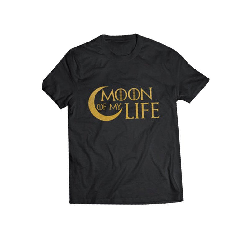 T-shirt - For Lovers Sun Stars And Moon Life Couple T-Shirt
