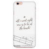 'All I want right now is to be at the beach' Summer Quotes iPhone Case