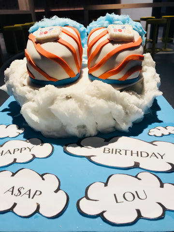 A$AP Rocky and A$AP Lou's birthday cakes from Butterscotch London