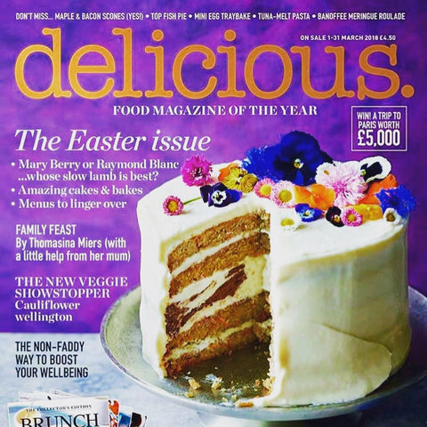 Delicious Magazine Covergirl Butterscotch Bakery