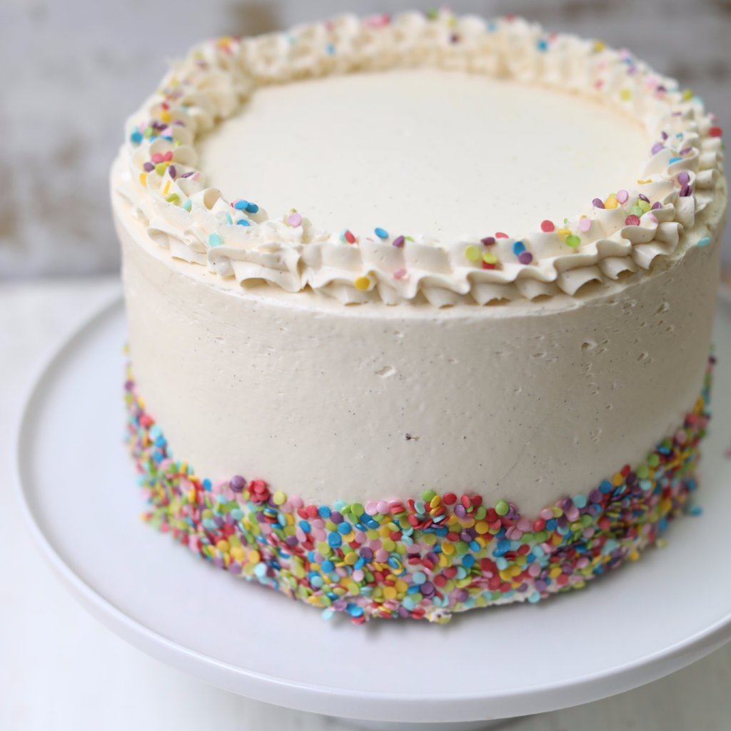 butterscotch bakery vanilla funfetti cake | butterscotch london