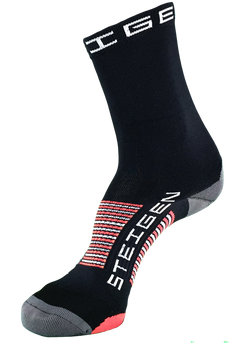 Steigen 3/4 Length Black Socks
