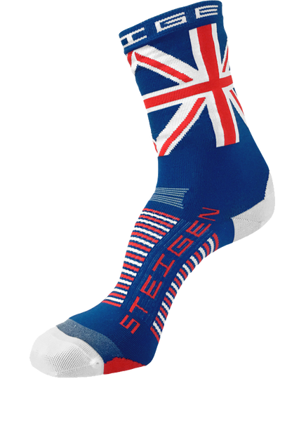 Steigen 3/4 Length Union Jack Socks