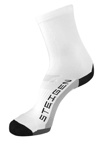 Steigen 3/4 Length White Socks