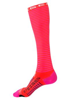 Steigen Full Length Flamingo Pink Socks