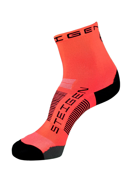 Steigen 1/2 Length Fluoro Red Socks