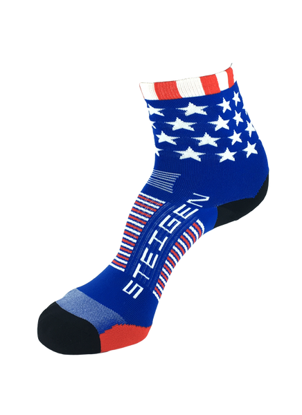 Steigen 1/2 Length Stars & Stripes Socks