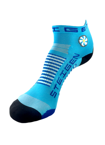 Steigen 1/4 Length Breezy Blue Socks