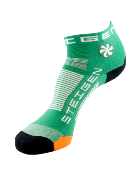 Steigen 1/4 Length Irish Green Socks