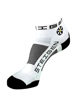 Steigen 1/4 Length White Socks