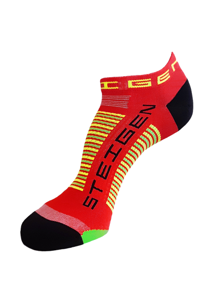 Steigen Zero Length Red Socks
