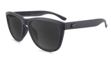 KNOCKAROUND Premiums Sport - Black on Black / Smoke (Polarised) Sunglasses