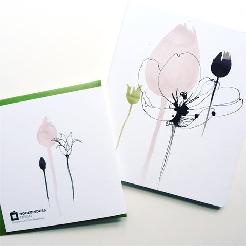 Notebook and giftcard for Bookbinders Design