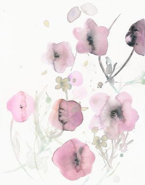 Original Artwork - Watercolor flowers - No 49
