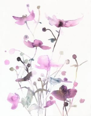 Original Artwork - Watercolor flowers - No 46