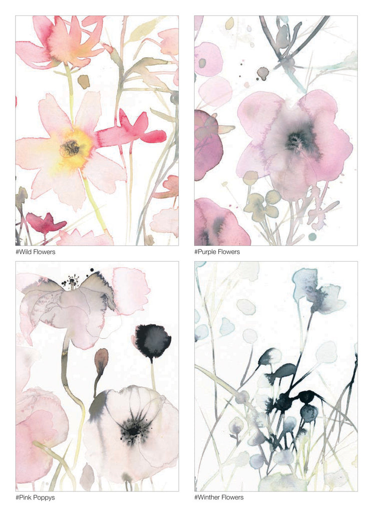 Flowercards - 10 cards