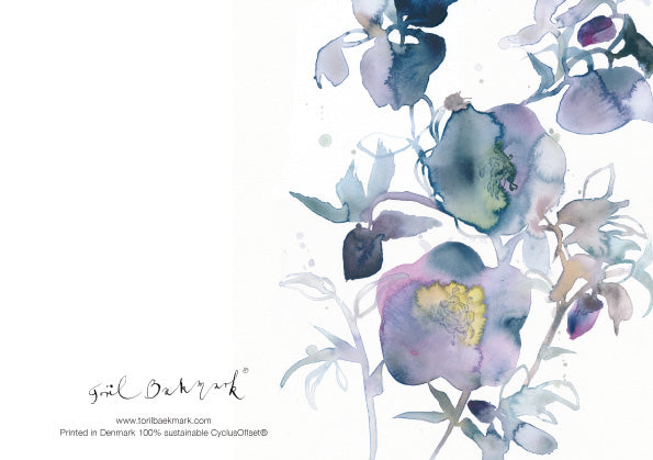 Flowercards Winter Collection - 10 cards