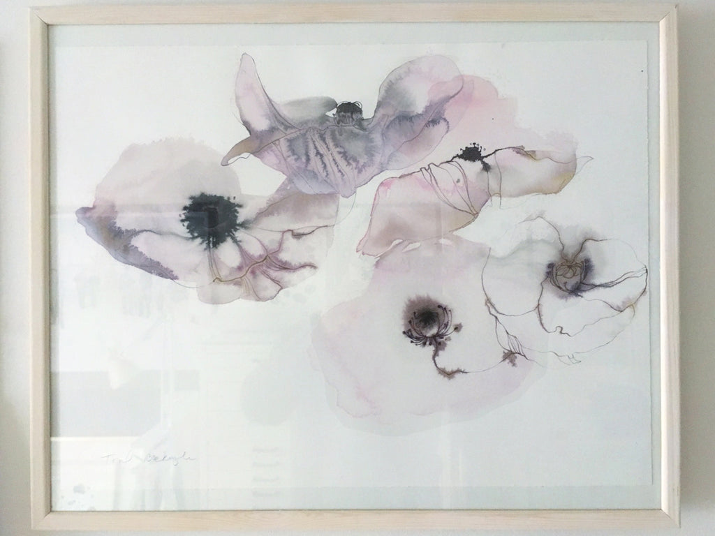 Original Artwork - Watercolor flowers