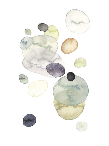 Original Artwork - Beach Stone - Art No 06