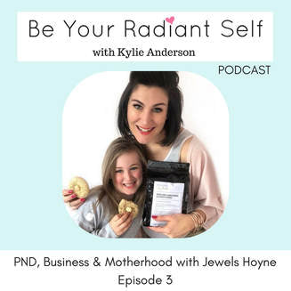 PODCAST: PND, business & motherhood with Jewels from milk & cookies by Jewels