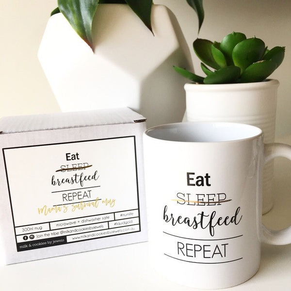 eat sleep breastfeed repeat