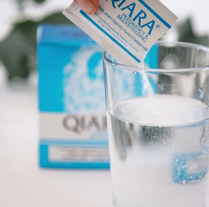 Qiara probiotic isolated from health human breast milk to help breastfeeding mothers.