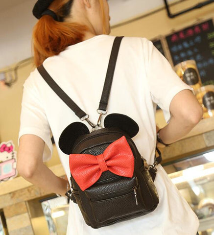 MICKEY EAR BACKPACK - BLACK