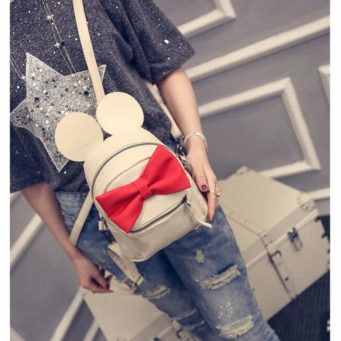 MICKEY EAR BACKPACK - WHITE