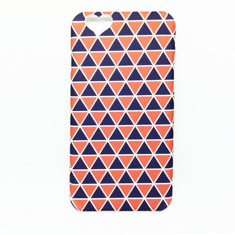 HEART BACK CUT TRIANGULAR CASE FOR IPHONE 6 6S