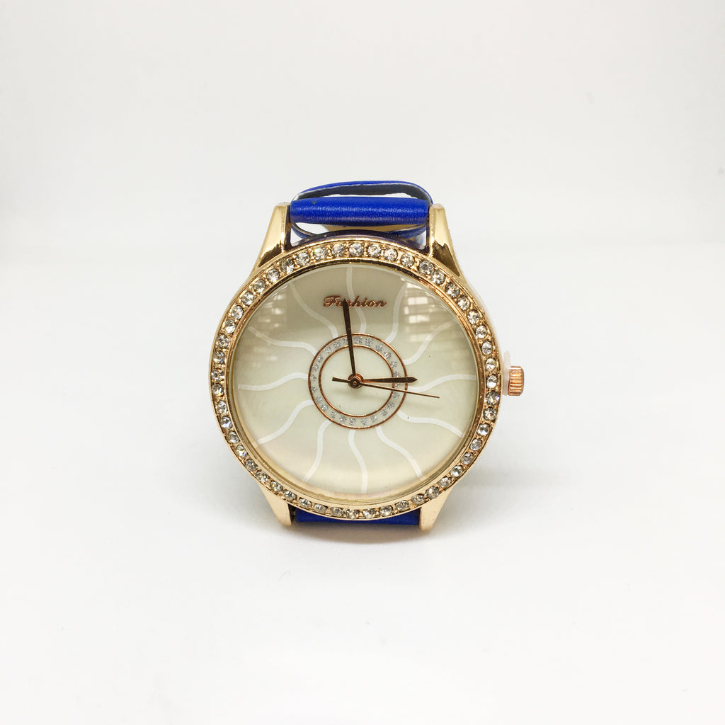 WOMEN WRIST WATCH- BLUE