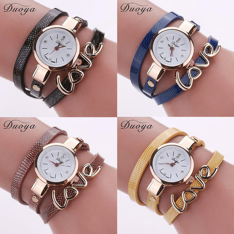 DUOYA LOVE WRIST WATCH