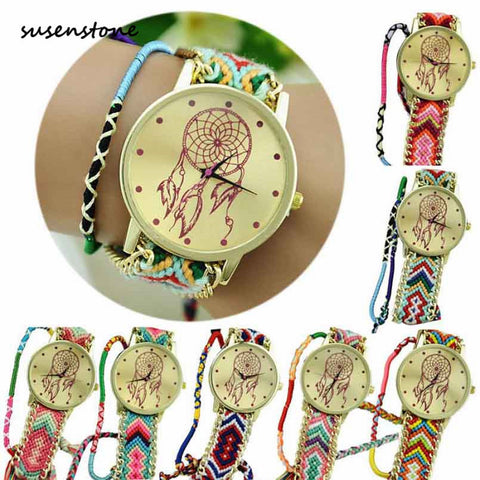 DREAM CATCHER  KNIT WATCH