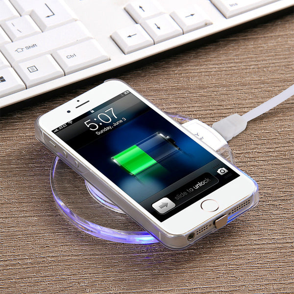 Fantasy Qi Wireless Mobile Charger for Samsung Galaxy S6, S7, Edge+, Iphone Androids - olae