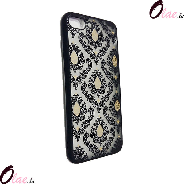 VINTAGE FLOWER CASE FOR IPHONE 6/6S/7/7PLUS BLACK