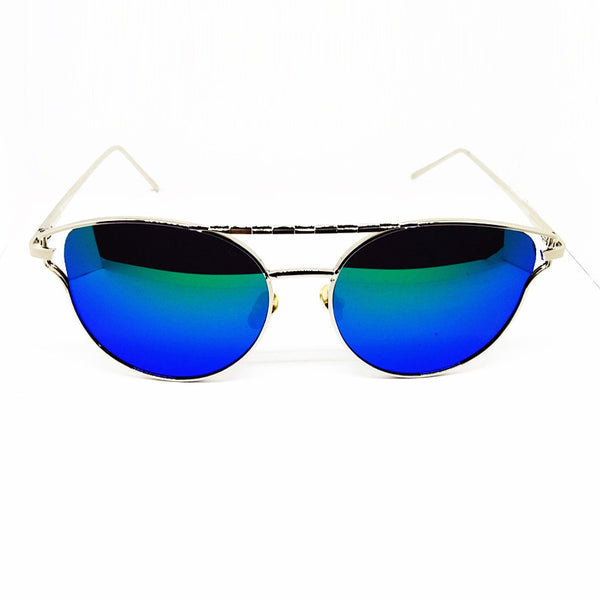 CAT EYE SILVER SUNNIES