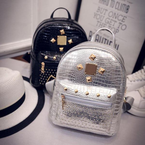 STUD BACKPACK - BLACK