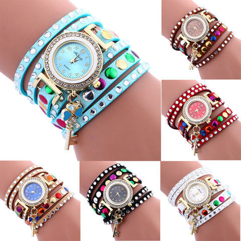 KEY PENDANT WRIST WATCH