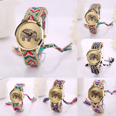 ELEPHANT KNIT WATCH