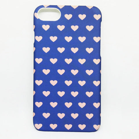 HEART  CASE FOR IPHONE 7 - BLUE